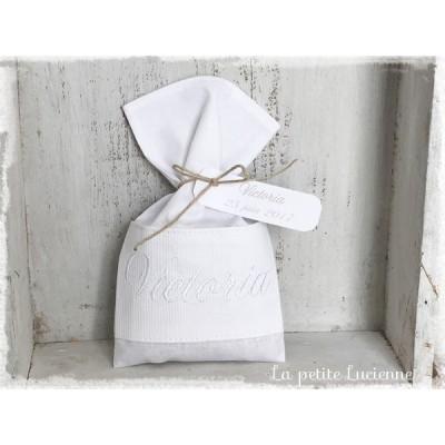 Bonbonnière communion blanche