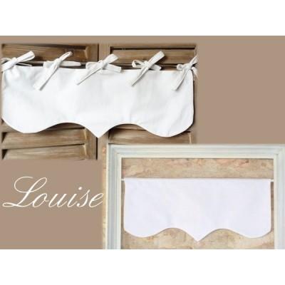 Louise: cantonnière rideau