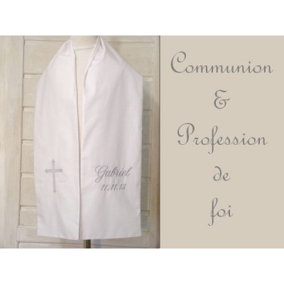 Echarpe de communion, écharpe profession de foi