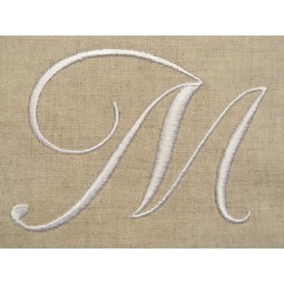 EMMA: monogramme à coudre
