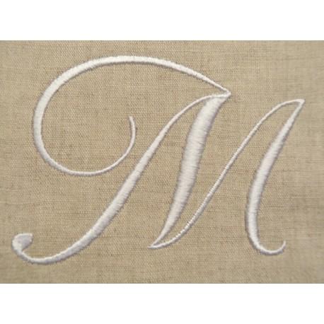 monogramme à coudre