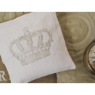COURONNE: Coussin d'armoire parfumé-gris