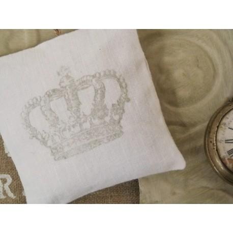 Coussin d'armoire parfumé-gris