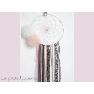 Dreamcatcher Attrape rêve en liberty figue