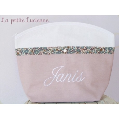 Trousse de toilette personnalisable Liberty Betsy Ann