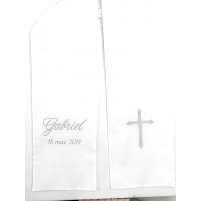 Echarpe baptême adulte