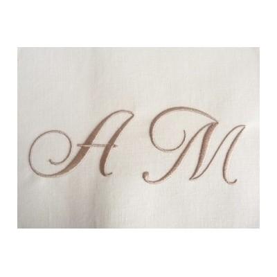 Emma: Monogrammes 2 initiales à coudre