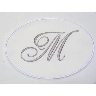 Séraphine: grand médaillon monogramme