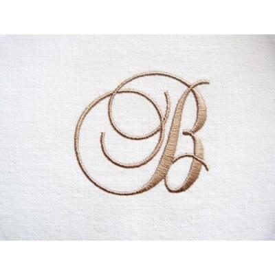 Louise: monogramme à coudre
